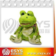 singing doll frog stuffed animal