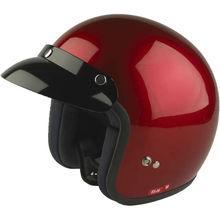 Pretty Unique Three Quarter Half Face Motorcycle Helmet