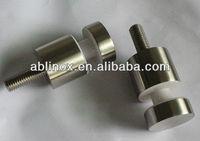 Mirror fastener hardware/frameless mirror mounting hardware