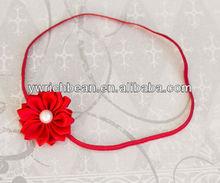 hot-sales lovely baby headband with diamond rhinestone flower WH-570