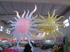 self luminous decorations, inflatable sun shape