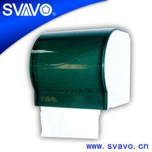 V-7402 decorative plastic small round roll tissue holder