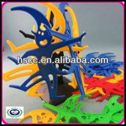 Hot sale 3D DIY human pyramid jigsaw puzzles,educational plastic toys 3d puzzle