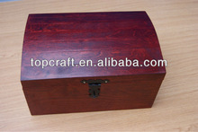 LACQUERED X LARGE TREASURE CHEST WOODEN BOX MEMORY BOX TRINKET SOUVENIR GIFT