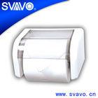 V-6801 small round mini type roll tissue dispenser