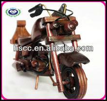 Hot sale wooden mini model motorbikes,wooden motorbike toy