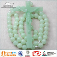 Luminous Rosary/Glowing in the dark Plastic Wall Rosary