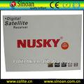 Iks/sks hd receptor nusky n6s, nuevo diseño, de buena calidad para américa del sur