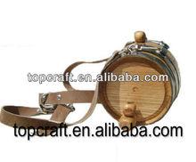 Wood Barrel / Keg - 34 oz (1 liter