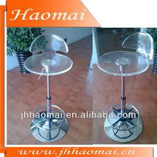 2012 hot sale modern clear lucite acrylic bar stool