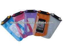 TPU mobile phone beach bag waterproof diving bag for all cell phone