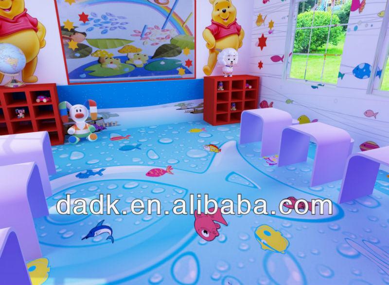 De dibujos animados imagen ni os habitaci n infantil de - Suelos de vinilo infantiles ...