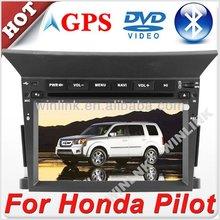 "Digital touch screen 6.2"" auto radio for honda pilot"