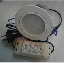 High power aluminium CE&SAA 21W led downlight white frame is options for commerce lighting