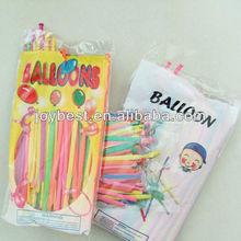 "10"" standard balloon packing,100pcs /bag"