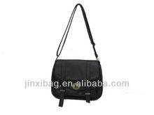 Fashion ladies small handbag twist lock closure