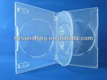 14mm super clear quad dvd case