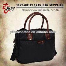 Designer Coated Canvas Shoulder Bag Messenger Bag For Laptop