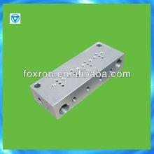 stainless steel custom machined manifold