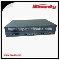 HM-PG FXO/FXS + GE + E1 over Fiber 30 Channels PCM
