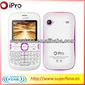 Nuevo ipro 2.0 pulgadas de pantalla qvga de el último teléfono móvil dual del sim venus l