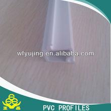 Manufacture top quality 60 casement PVC profiles, UPVC-60 double glazing bead