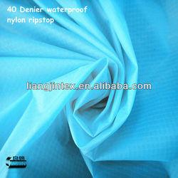 40 Denier silicone coated ripstop nylon
