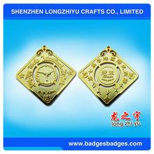 Metal Medal Souvenirs Hong Kong International Martial Arts Medal For Champions