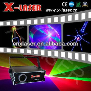 dj disco club bar RGB full color 2D plus 3D beam&animation laser light