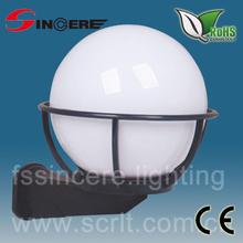 extérieur lampe boule uvioresistant acrylique globe de verre la lumière couvre