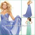jp0236 design simples luz azul bainha vestidos de baile para mulheres grávidas