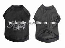 dog plain t-shirts sport dog t-shirts printed dog t-shirt YR-011
