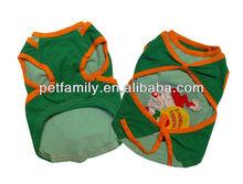 sleeveless t-shirt for dogs dog plain t-shirts sport dog t-shirts YR-028-1