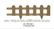 WPC garden profile/fencing