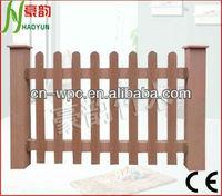 Composite wpc garden fence material