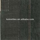 (UN88813) 13.5oz Black cotton selvedge denim twill fabric for jeans