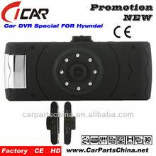 8IR Night Vision 1080P Hd Dual Camera Car Dvr 4X Digital zoom