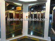 Stainless steel mirror exterior security steel door