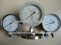 150mm el movimiento diferencial de transmisión a distancia manómetro