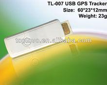 minimum new gps tracker, usb shape, tracking software, sos button TL-007