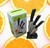 "YangJiang Jinyuan brand 4"" 5"" 6"" color box packing ,zirconia ceramic kitchen knife set"