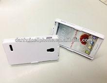 Belt Clip Shell Holster Case Combo+Stand case for LG optimua L9 P769
