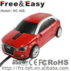 fashion design factory direct sale AUDI car mouse