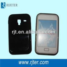 black silicon case for samsung Galaxy Ace Plus S7500