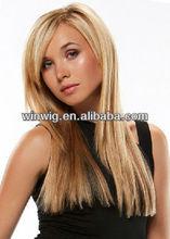 2012 new popular changing style 22inch silk straight,AAAAA+100 brazilian virgin hair, full lace human hair wigs NYHWIG-C0326
