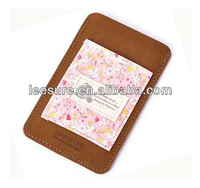 Retro Style leather mobile cases for promotion