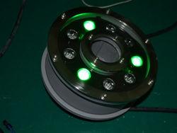 24v rgb underwater light IP68 RGB 3in1 by dmx 3years warranty