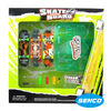 3 pcs 9.5X2.5cm Finger skateboard toy with Stock clip