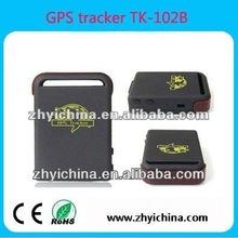 ZY Internation Ltd. Top selling cheapest Online tracking mini Vehicle/pets/person gps tracker --TK102B/TK-102-2