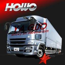 Howo 6*4 cargo truck van